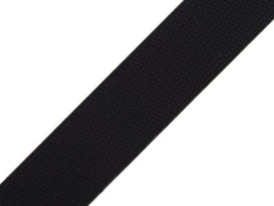 1m Gurtband Baumwolle 3cm breit schwarz