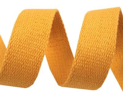 1m Gurtband Baumwolle 3cm breit senf