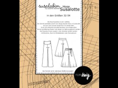 1Stk Susalotte Hose Papier Schnittmuster by
