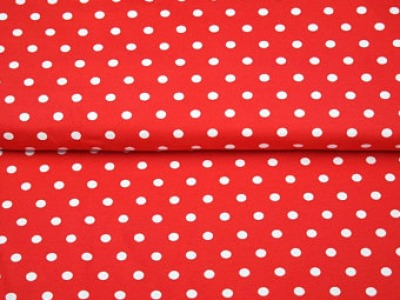 05m Jersey Midi Dots Punkte rot