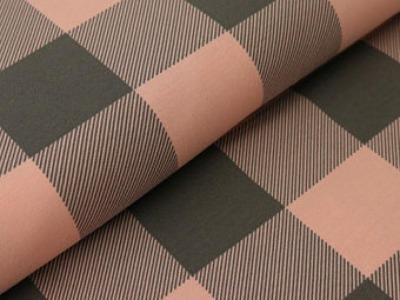 05m Jersey Lumberjack Karo rosa grau
