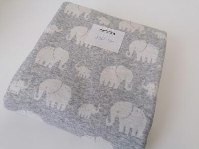 13m Jaquardt Doubleface Madita Elefanten grau