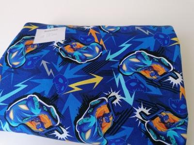15m Reststück Sweat PJ Mask blau