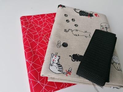 Materialpaket DIY Einkaufstasche Shopper Heinrich Katze