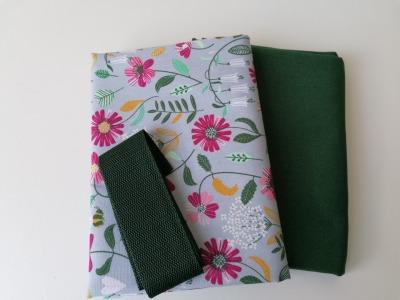 Materialpaket DIY Einkaufstasche Shopper Heinrich Flowers