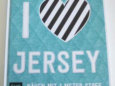 1Buch Love Jersey Nähen mit Meter