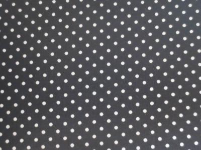 05m BW beschichtet kleine Punkte schwarz