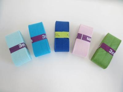 Angebot 5x3m Baumwollschrägband Uni 3cm keine