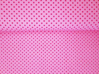 05m BW Kleine Punkte rosa pink