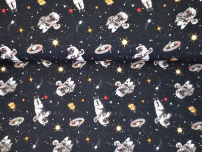05m BW Weltall Astronaut schwarz bunt