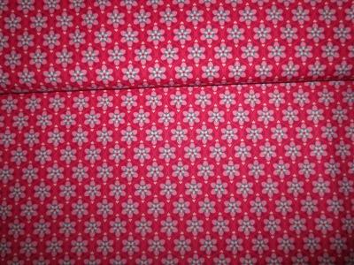 05m BW Julia Blumenmuster pink rosa