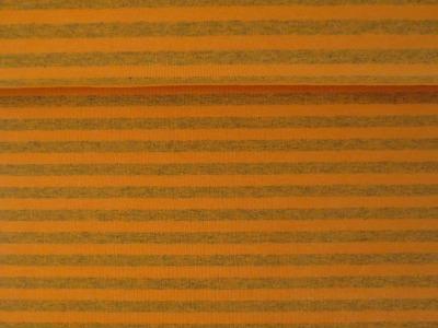 05m Lillestoff Jersey Ringel Streifen orange