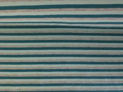 05m Jersey Ringel Streifen petrol mint