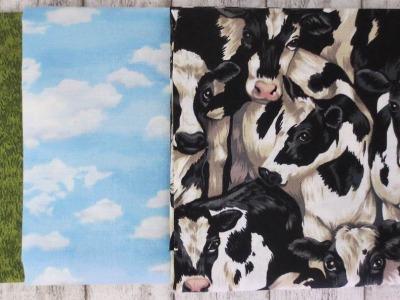 1Pck Emerald Isle Grass Landscape Sky Farmyard cows