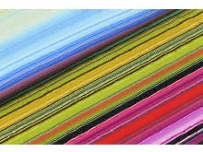 05m Jersey Streifen Multicolor gelbmix