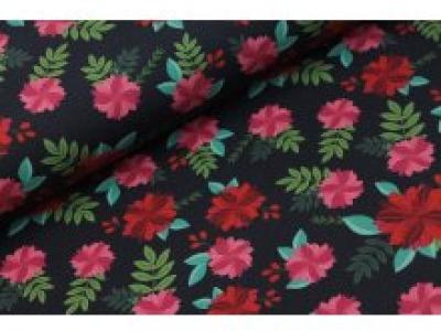 05m Jersey Carnation Flowers Nelken dunkelblau