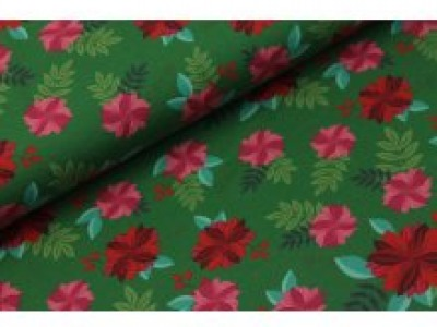 05m Jersey Carnation Flowers Nelken grün