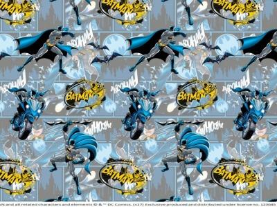 05m Jersey Batman grau blau gelb