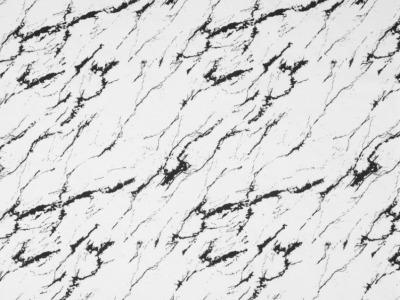 05m Jersey Marble Marmoroptik weiß schwarz