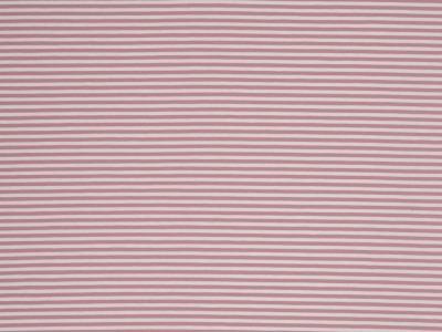 05m Jersey Ringel Streifen rose altrosa