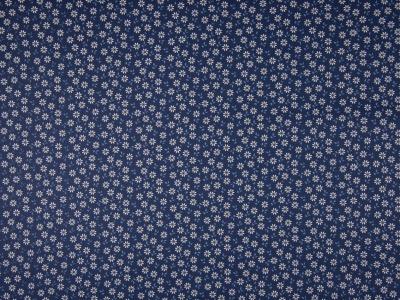 05m BW Streublümchen dunkelblau weiß hellblau