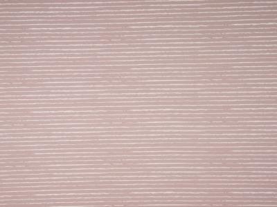 05m BW Unregelmäßige Streifen dustyrose weiß