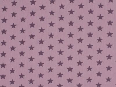 05m Jersey Kleine Sterne flieder lila