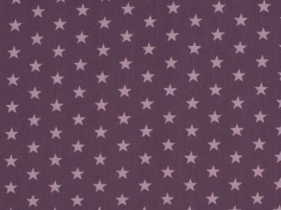 05m Jersey Kleine Sterne lila flieder
