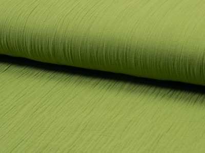 05m Musselin Double Gauze uni grün