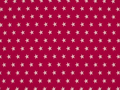 05m BW magenta Sterne Petit Stars
