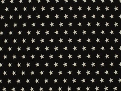 05m BW schwarz Sterne Petit Stars