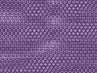 05m BW lila Daisy Kleine Blumen