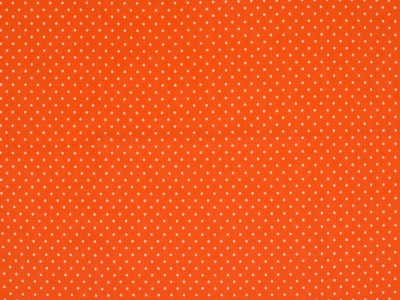 05m Jersey Mini Dots Punkte orange