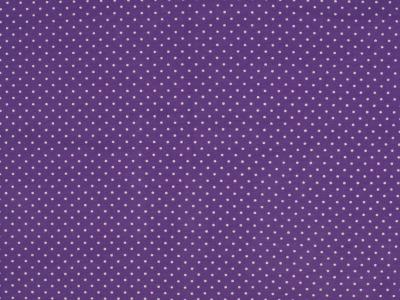 05m Jersey Mini Dots Punkte lila
