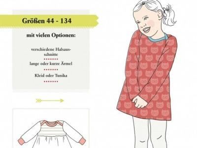1Stk Kinderkleid Klimperklein Papier Schnittmuster by
