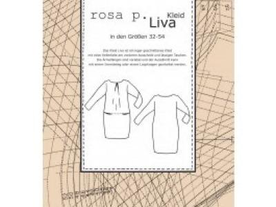 1Stk Liva Kleid Papier Schnittmuster by