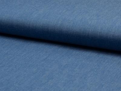 05m BW Chambray uni Jeans dünn
