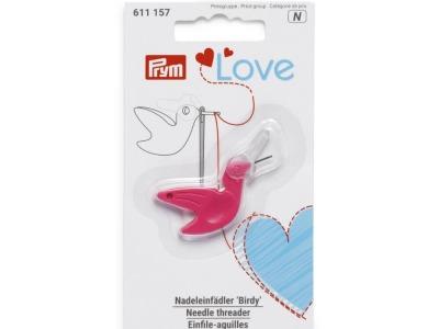 1Stk Nadeleinfädler Birdie Prym Love pink
