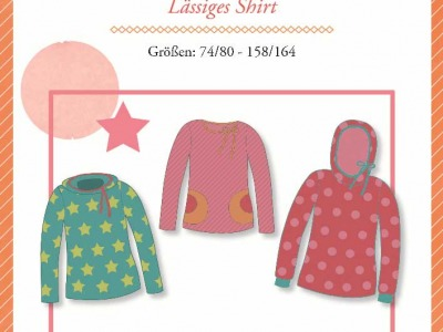 1Stk Rose Kindershirt Papier Schnittmuster by