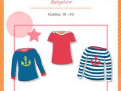 1Stk Little Mariella Babyshirt Papier Schnittmuster
