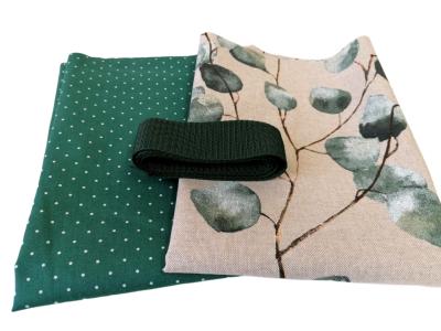 Materialpaket DIY Einkaufstasche Shopper Heinrich Eukalyptus