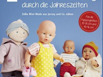 Buch Puppenkleidung durch die Jahreszeiten Süße