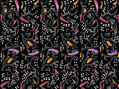 025m Baumwolle Migration Monarch Stripe schwarz