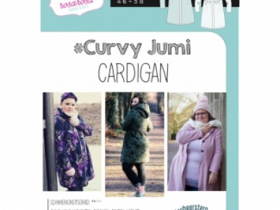 1Stk CURVY JUMI Cardigan Papier Schnittmuster