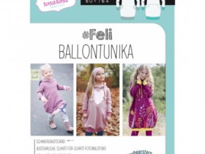 1Stk FELI Ballontunika Papier Schnittmuster by