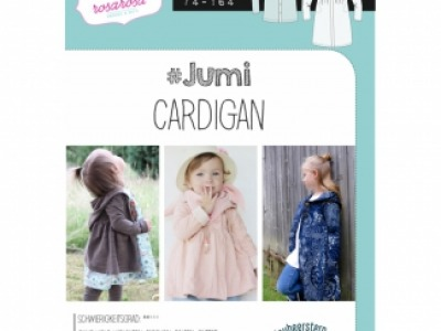 1Stk JUMI Cardigan Papier Schnittmuster by