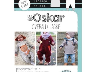 1Stk Oskar Jacke Overall Papier Schnittmuster