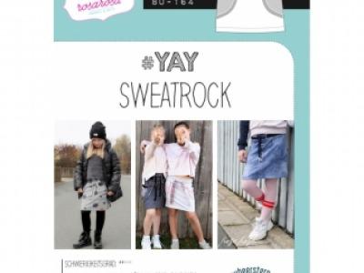 1Stk YAY Sweatrock Papier Schnittmuster by