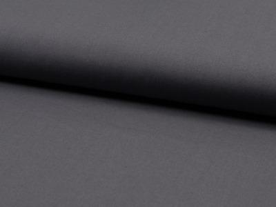 05m Baumwolle Uni dunkles Grau antrazith