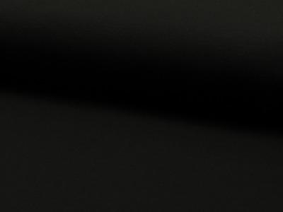 05m Jersey uni schwarz 069 Auch
